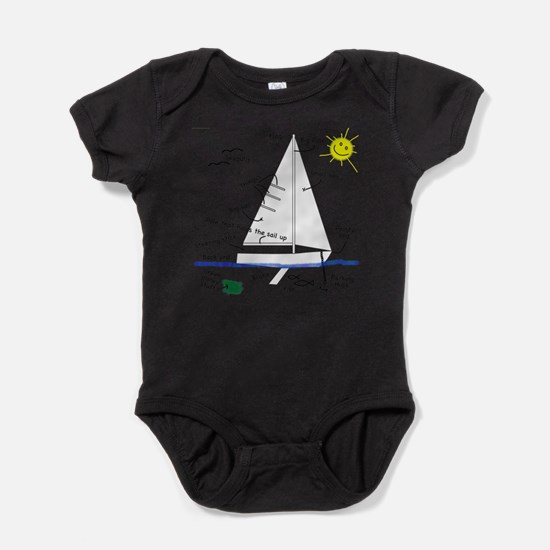 Cute Racing boats Baby Bodysuit