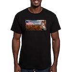 Autumn Ranger Men's Fitted T-Shirt (dark)