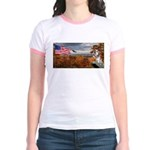 Autumn Ranger Jr. Ringer T-Shirt