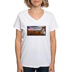 Autumn Ranger Women's V-Neck T-Shirt