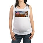 Autumn Ranger Maternity Tank Top