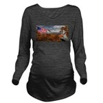 Autumn Ranger Long Sleeve Maternity T-Shirt