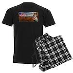 Autumn Ranger Men's Dark Pajamas