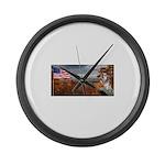 Autumn Ranger Large Wall Clock