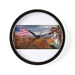 Autumn Ranger Wall Clock