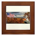 Autumn Ranger Framed Tile