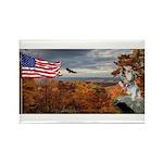 Autumn Ranger Rectangle Magnet (10 pack)