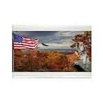 Autumn Ranger Rectangle Magnet (100 pack)