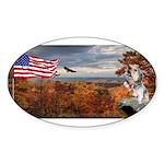 Autumn Ranger Sticker (Oval 50 pk)