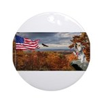 Autumn Ranger Round Ornament