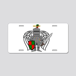 Holy Knight Aluminum License Plate