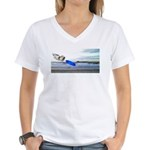 Beach Ranger Women's V-Neck T-Shirt