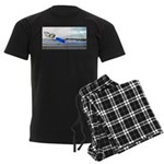 Beach Ranger Men's Dark Pajamas