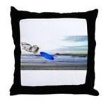 Beach Ranger Throw Pillow