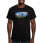 Flying Ranger Men's Fitted T-Shirt (dark)