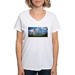 Flying Ranger Women's V-Neck T-Shirt