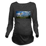 Flying Ranger Long Sleeve Maternity T-Shirt