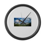 Flying Ranger Large Wall Clock
