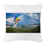 Flying Ranger Woven Throw Pillow