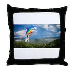 Flying Ranger Throw Pillow