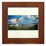 Flying Ranger Framed Tile