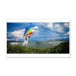 Flying Ranger 20x12 Wall Decal