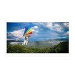 Flying Ranger 35x21 Wall Decal