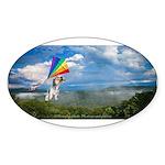 Flying Ranger Sticker (Oval 50 pk)