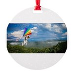Flying Ranger Round Ornament