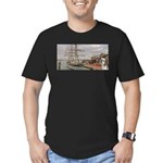 Captain Ranger Men's Fitted T-Shirt (dark)