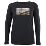 Captain Ranger Plus Size Long Sleeve Tee