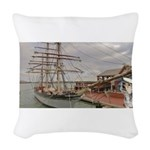 Captain Ranger Woven Throw Pillow