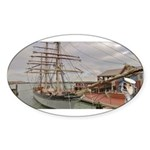 Captain Ranger Sticker (Oval 50 pk)