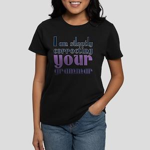Retro Typography Grammar T-Shirt