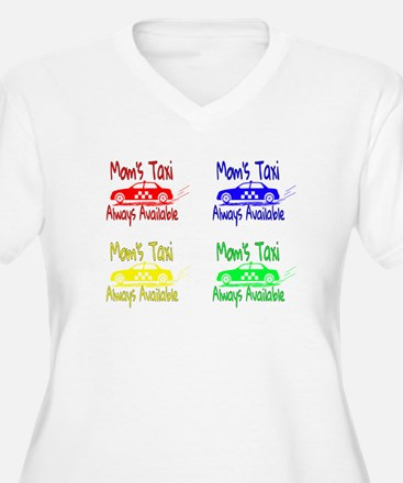 Mom's Taxi Plus Size T-Shirt