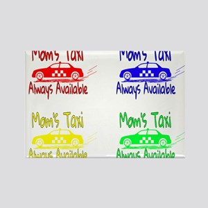 Mom's Taxi Magnets