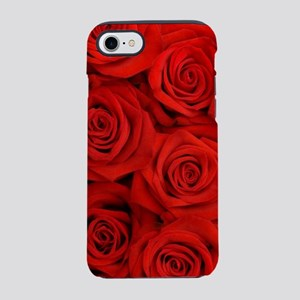 modern love red rose iPhone 8/7 Tough Case