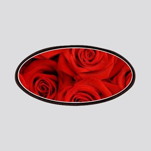 modern love red rose Patch
