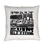 Italy Rocks Ruins Everyday Pillow