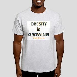 Obesity is Growing Light T-Shirt