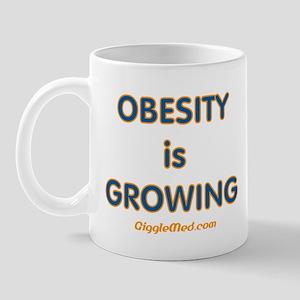 Obesity is Growing Mug