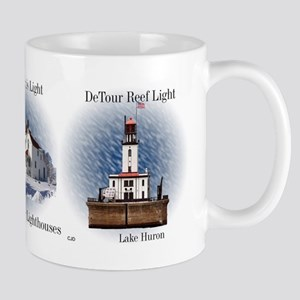 St. Mary's River Lighthouses Mugs