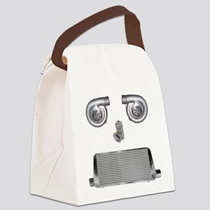 turbo face Canvas Lunch Bag