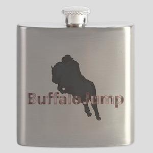 Buffalo Jump Apparel Flask