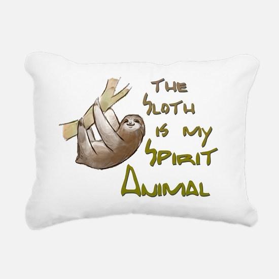 Cute Sloth Rectangular Canvas Pillow
