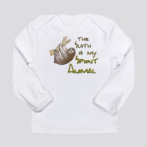 The sloth is my Spirit animal Long Sleeve T-Shirt