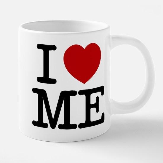 I LOVE ME By RIFFRAFFTEES.COM Mugs