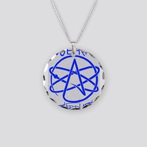 We Are Stardust Necklace Circle Charm