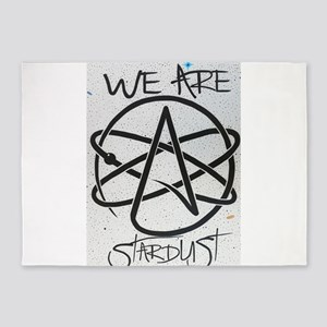 We Are Stardust 5'x7'Area Rug