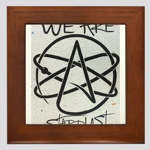 We Are Stardust Framed Tile